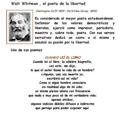 Concurso Walt Whitman