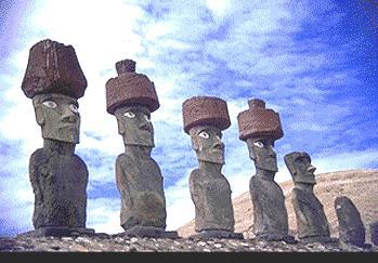 Vota por los moais de Isla de Pascua